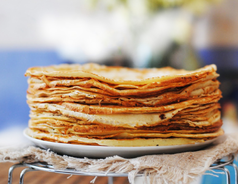 Pancakes - water dough