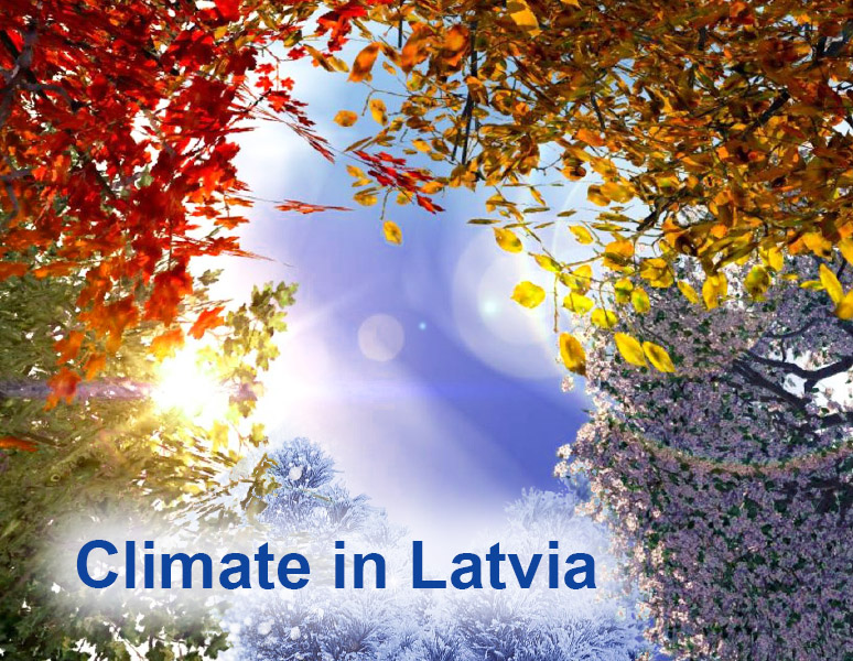 Climate in Latvia