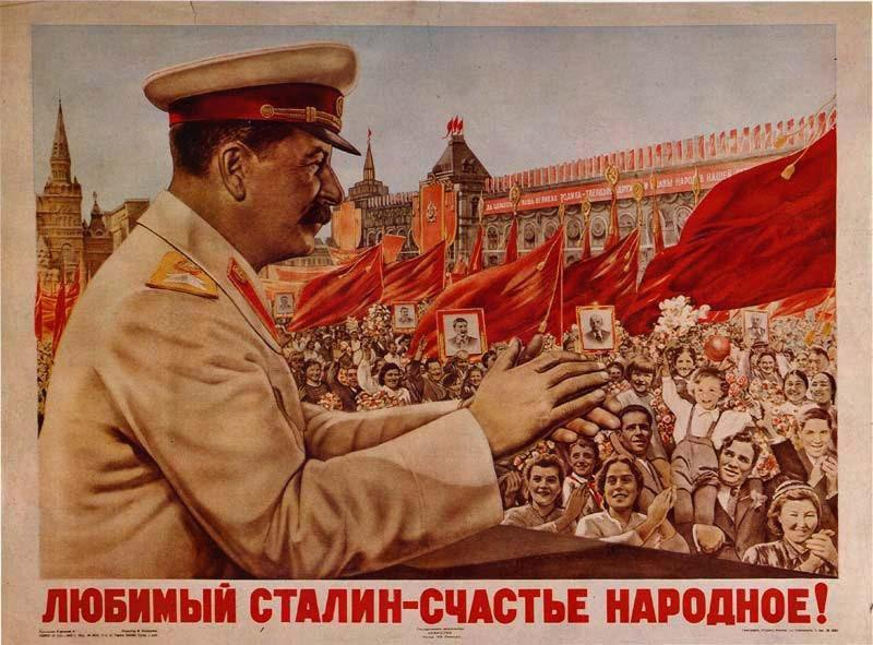 """Beloved Stalin is the People's Happiness"""
