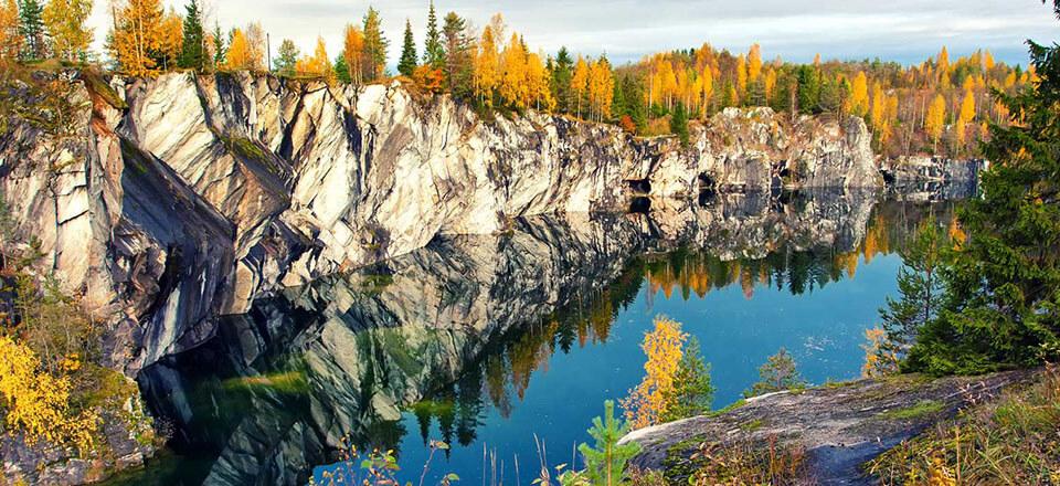 Ruskeala, Karelia