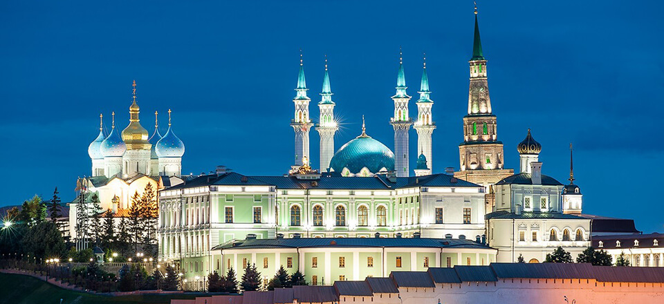 The Russian Orthodox Culture Co Exists Here With Muslim And Churches Are Next To Mosques
