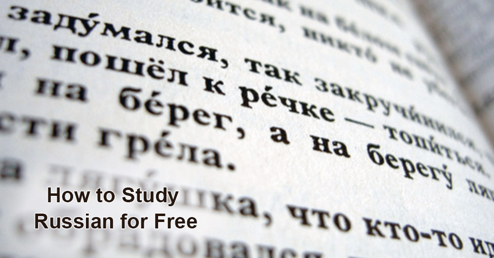 How to Study Russian for Free