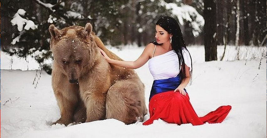 Do you have a picture with a bear?