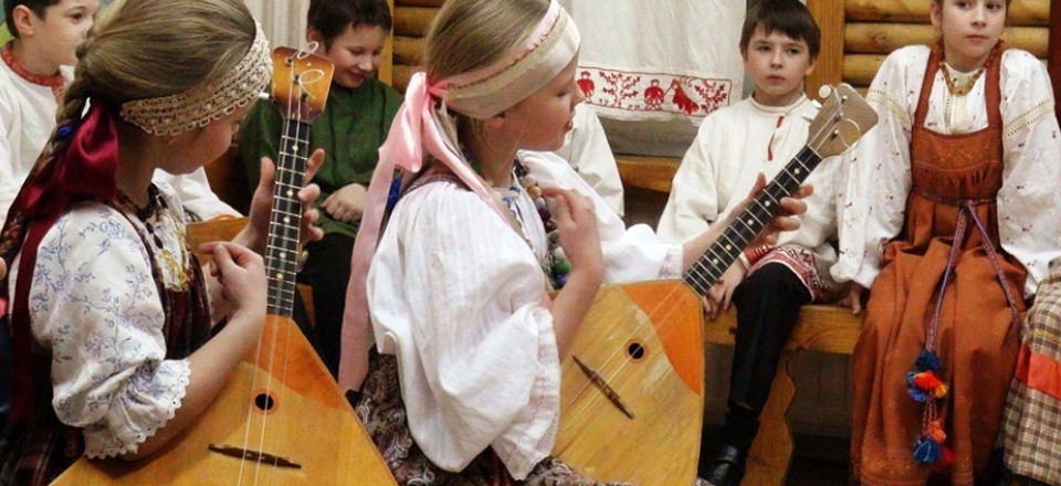 lots of musicians around the world are learning to play the balalaika, they found groups and orchestras