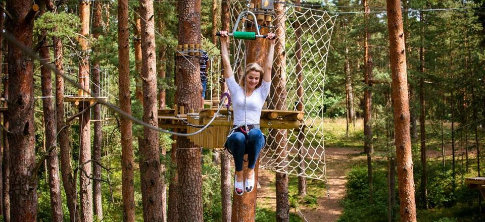 Adventure Park Daugavpils Tarzāns