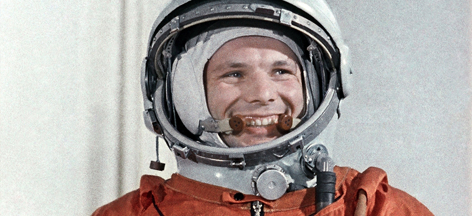 Yury Gagarin - the First Cosmonaut in the World