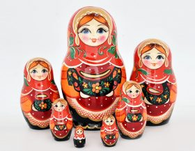 A Traditional Russian Souvenir - Matryoshka