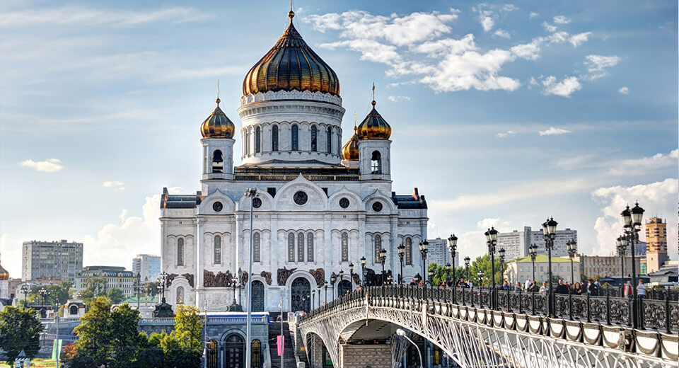 Cathedral of Christ the Savior — 103 m