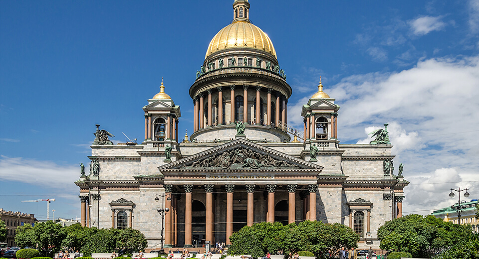 Saint Isaac's Cathedral — 101.5 m