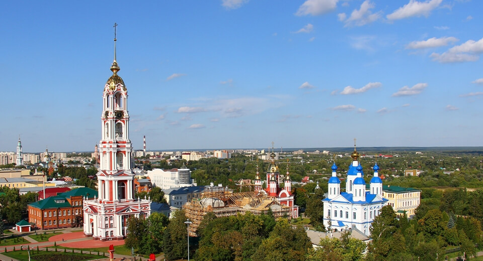 Bell Tower of Monastery of Our Lady of Kazan — 99.6 m