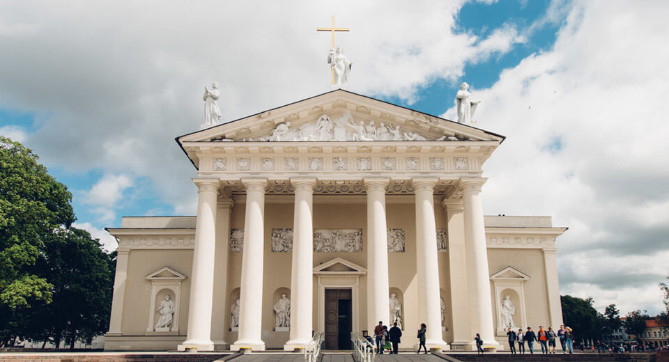 St Stanislav and St Vladislav Cathedral Vilnius