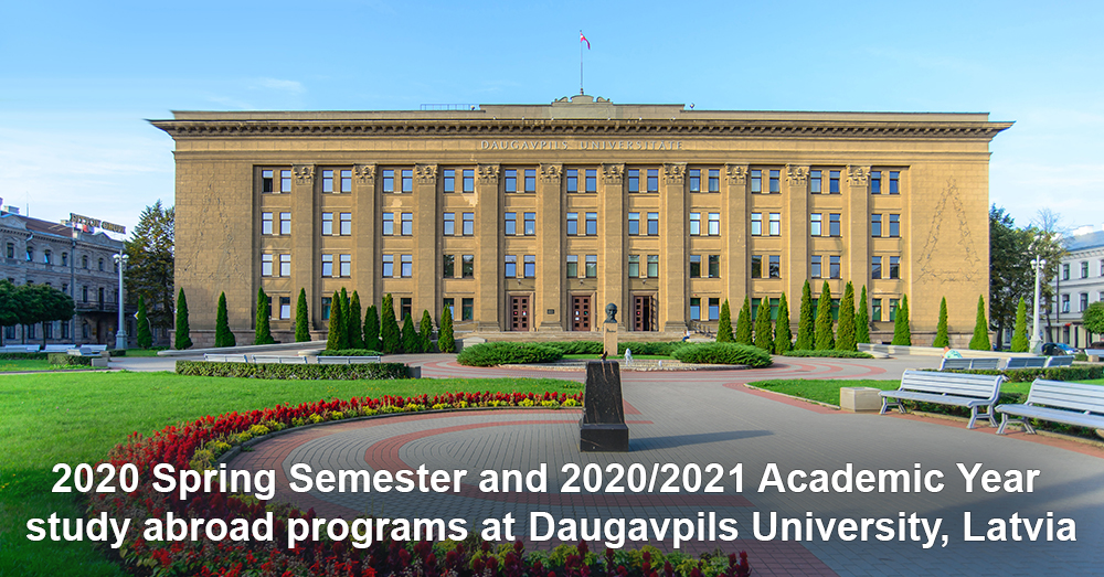 Spring Semester 2020.2020 Spring Semester And 2020 2021 Academic Year Study