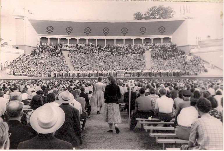 Open-Air Stage in 1959