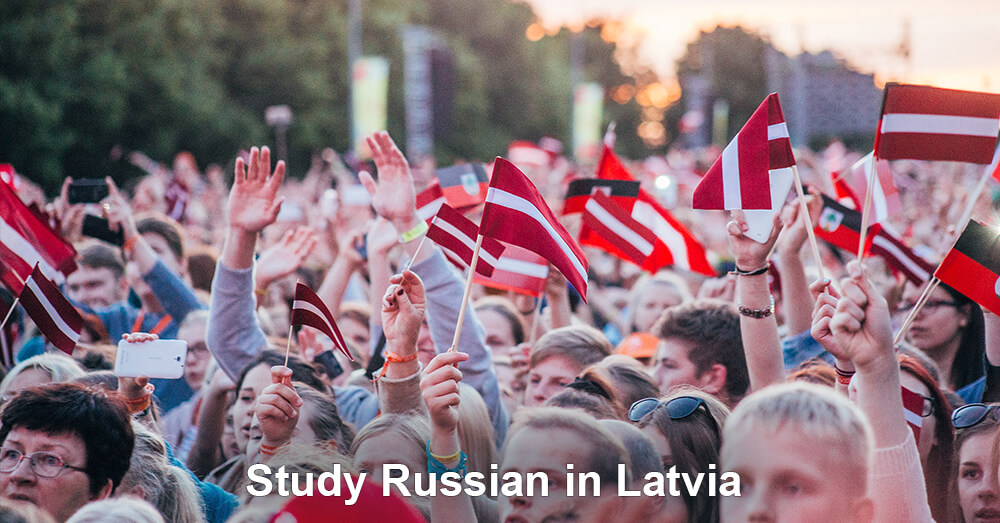 Study Russian in Latvia