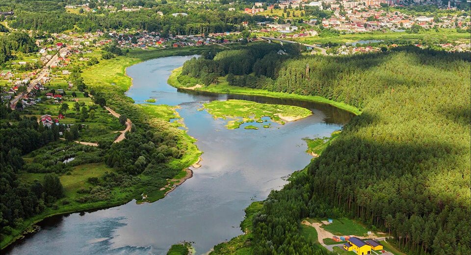 Природный парк Daugavas loki