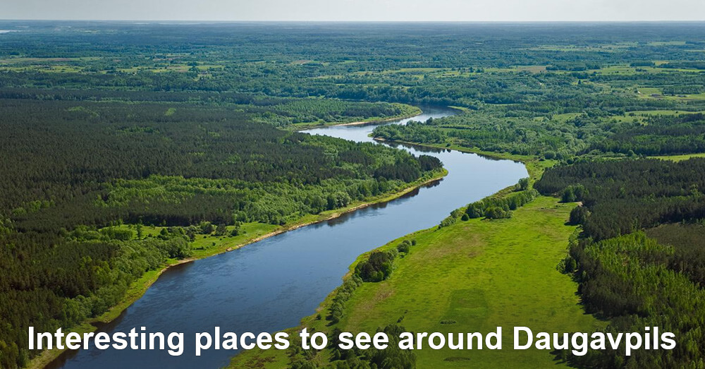 Interesting places to see around Daugavpils