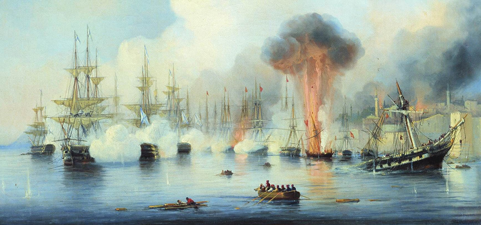 The Battle of Sinop - 1853