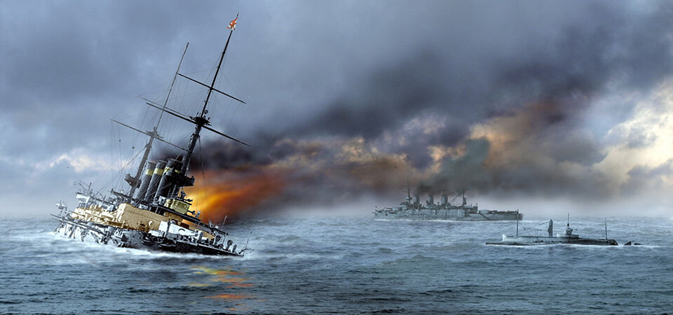 The Battle of Tsushima - 1905